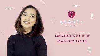 Smokey Cat Eye Makeup Look | Tutorials