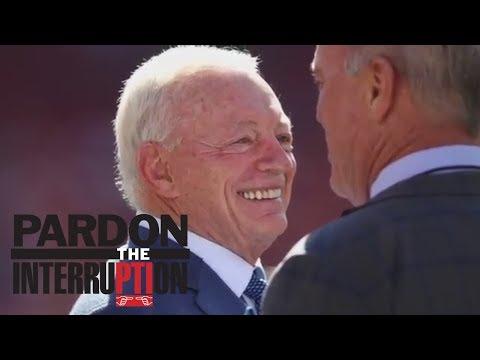 Jerry Jones threatens to sue NFL over Roger Goodell contract   Pardon The Interruption   ESPN