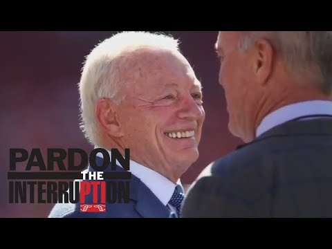Jerry Jones threatens to sue NFL over Roger Goodell contract | Pardon The Interruption | ESPN