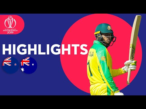 Boult Hat-Trick! | Australia vs New Zealand - Match Highlights | ICC Cricket World Cup 2019