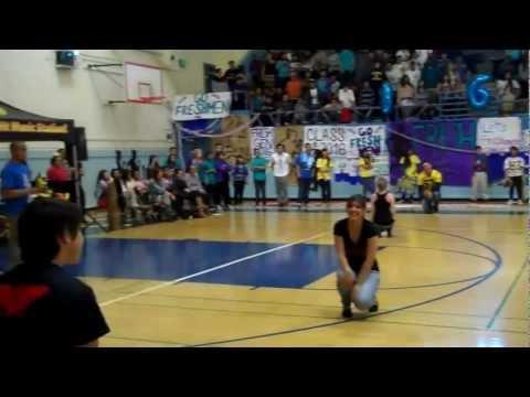 Jeffesron High School Daly City  Latino Heritage  Homecoming Rally 10/26/12