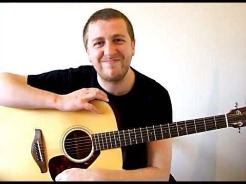 Clocks - Easy Beginner Song Guitar Lesson - Coldplay - Drue James
