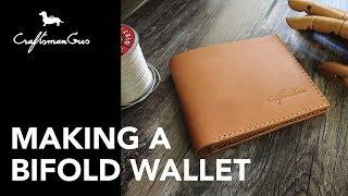 Making Leather Wallet #LeatherAddict EP 05