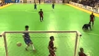 Timnas Futsal Indonesia Vs Dalian Yuan 4-3