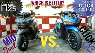 Honda Click 125i Game Changer vs. Yamaha Mio Soul i 125 | Battle of Scooters PH