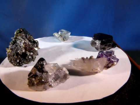 Arsenopyrite Fluorite Quartz Chalcopyrite Smoky Quartz Hunan Province China