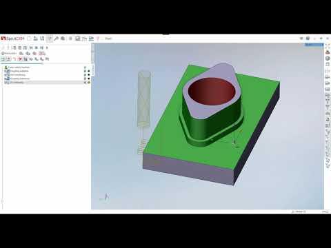 Создание управляющей программы для ЧПУ станка в SprutCAM 12