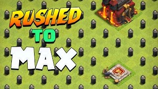 Clash of Clans: WHAT IF A RUSHED TOWN HALL FINDS A RUSHED TOWN HALL?