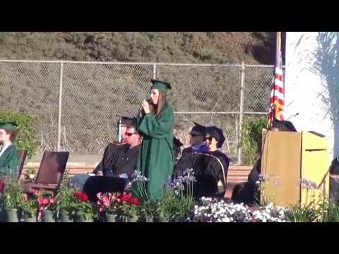 When You Believe - Jackie Foster at PHS Graduation