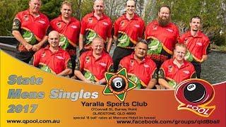 2017 Qld 8 Ball Men's Singles Finals