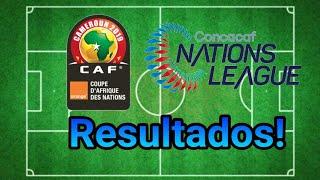 ¡CUBA DESTROZA A SU RIVAL! Resultados Liga de naciones de la CONCACAF y clasificación Copa Africana