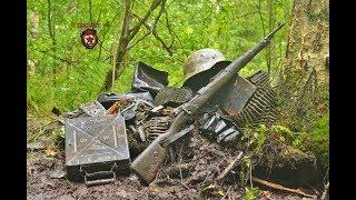Невероятно сохранившиеся находки с блиндажа немецкого егеря.Dugout Of Wehrmacht Mountain Shooters