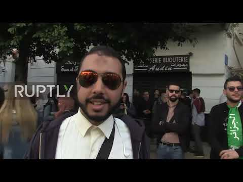Algeria: Thousands fill Algiers' streets over Bouteflika's bid for 5th term