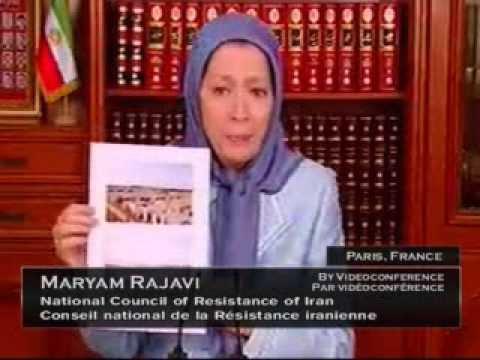 Mrs. Maryam Rajavi, Live testimony at Parliament of Canada