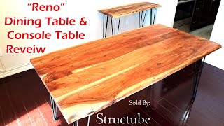 """Reno"" Dining & Console Table Review - Sold By Structube"