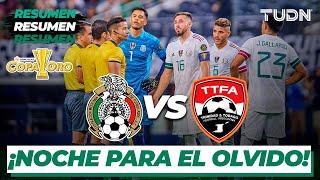 Resumen | México vs Trinidad y Tobago | Copa Oro 2021 | Grupo A |