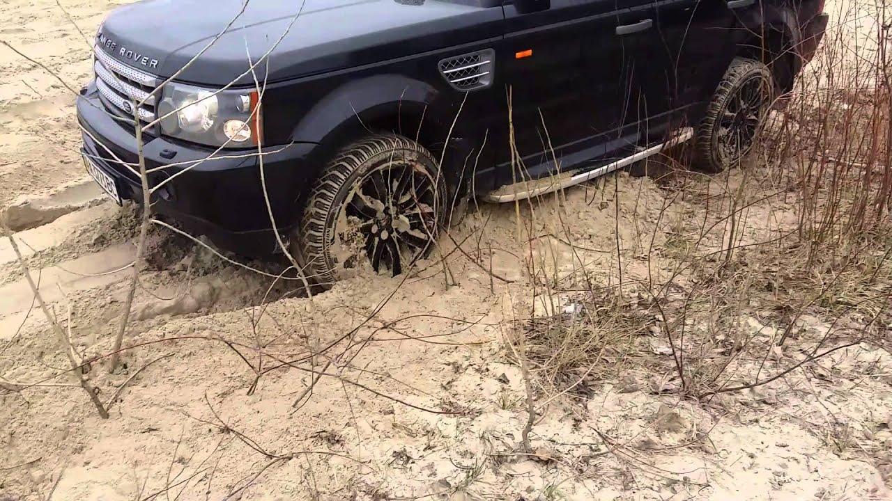 """Два """"ренжа"""" месят песок. Pange Rover Sport"""