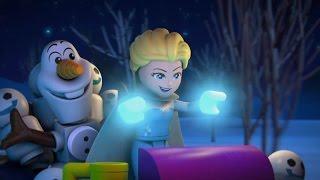 Frozen Magie van het Noorderlicht  Aflevering 1 Race Naar Het Uitkijkpunt