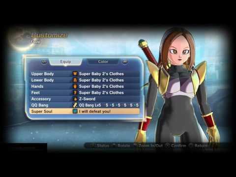 DRAGONBALL XENOVERSE 2 BUILDS: Female Earthling Ki Blaster