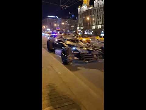 В Москве ДПС остановили Бэтмена