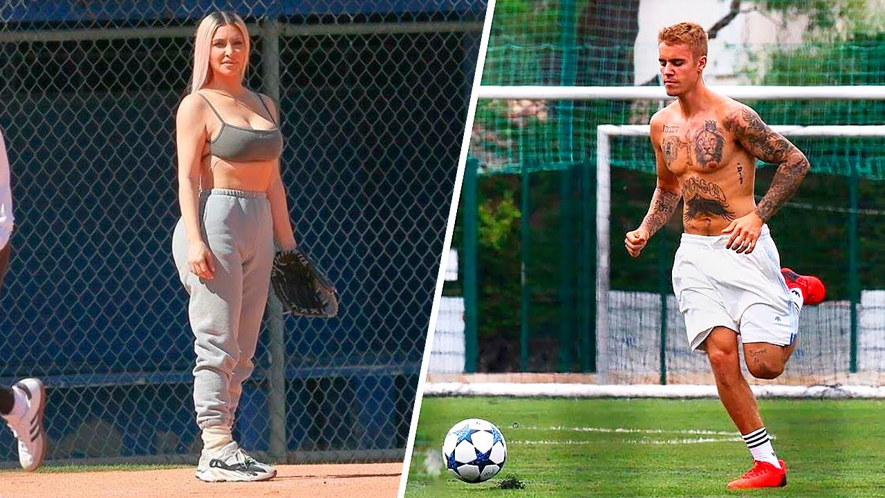 CELEBRITIES SHOW SKILLS IN SPORTS