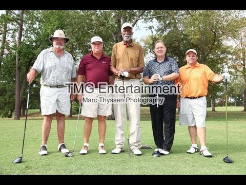 TMG Jim Brown Celebrity Golf Tournament-first day of golfing