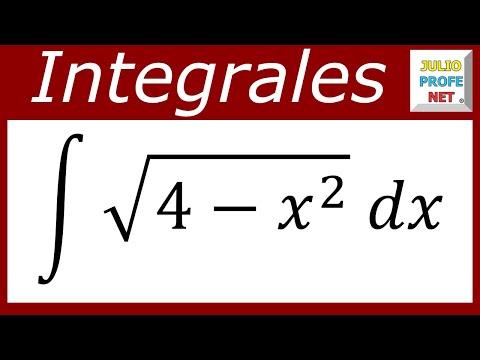 INTEGRACIÓN POR SUSTITUCIÓN TRIGONOMÉTRICA - Ejercicio 1
