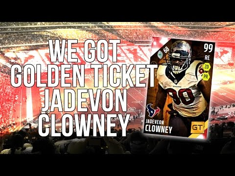 Madden 16 Ultimate Team :: GT Clowney Is Home! ::-XBOX ONE Madden 16 Ultimate Team