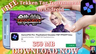 Tekken Tag Tournament Ps2 Game Download And Play In Android With