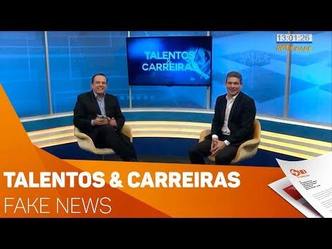Quadro Talentos & Carreiras: Fake news - TV SOROCABA/SBT