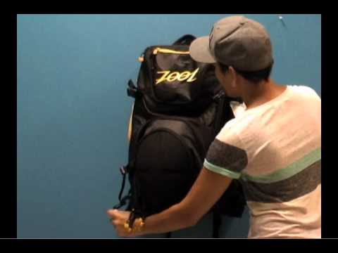 de9676ad9c Zoot Ultra Transition Bag PleasureSports - YouTube