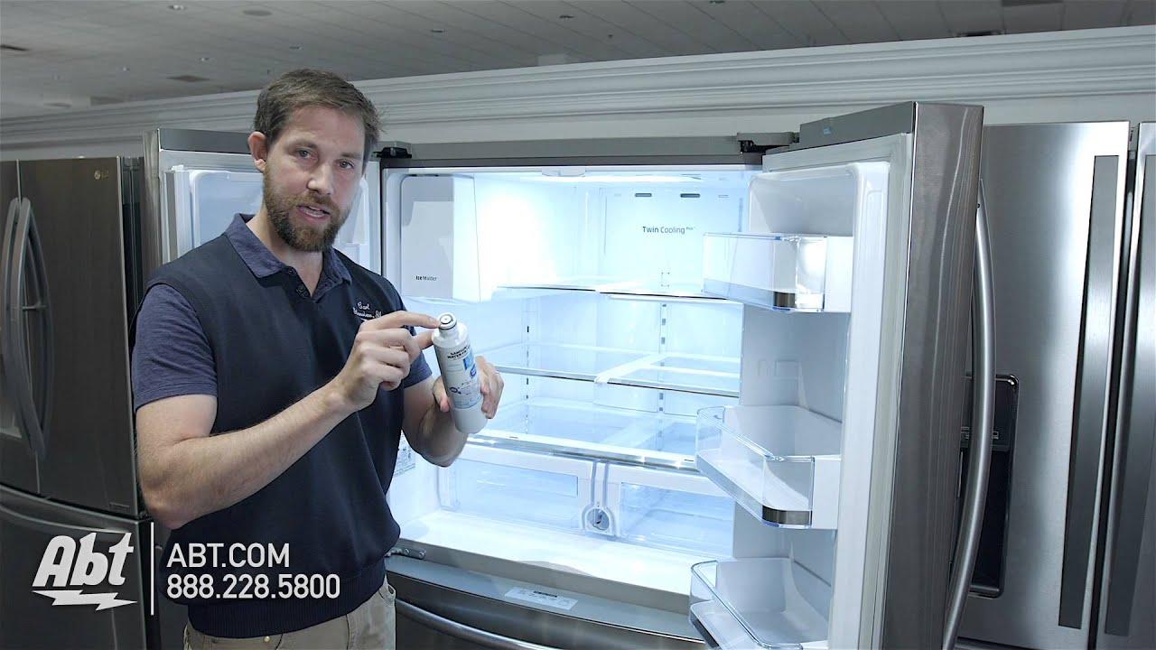 Samsung Refrigerator Water Filter Light Red