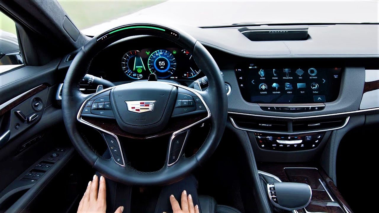 2017 Cadillac Ct6 With Super Cruise Self Driving Autopilot Clip