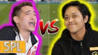 5PL Match #4 - Vincent Vs Danial Ron