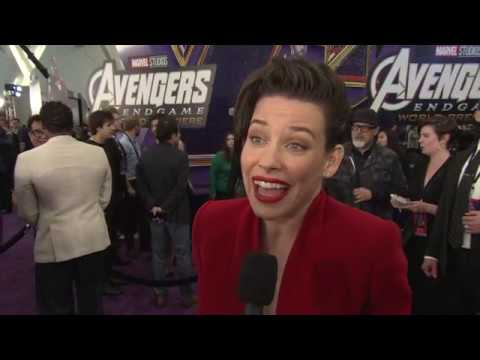 AVENGERS ENDGAME   with  EVANGELINE LILLY