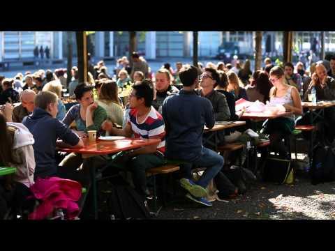 Lunch Market auf dem Campus Hönggerberg der ETH Zürich