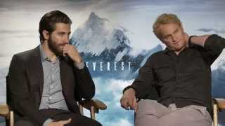 Everest: Jason Clarke & Jake Gyllenhaal Official Movie Interview