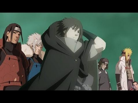 All Reanimated Hokage, Naruto, and Sasuke Vs. Ten Tails, Madara, and Obito [HD Quality] HD