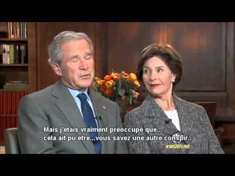 Bush admet à demi-mot une conspiration: ABC censure l'interview