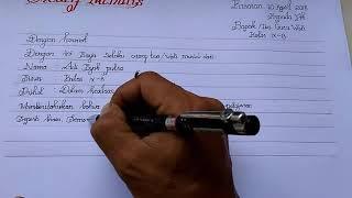 Download lagu Contoh surat izin  anak sekolah