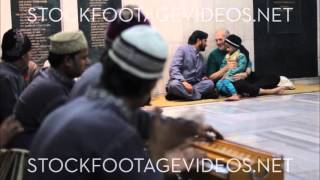 New Delhi India, Sufi Center, Musical Preformers Playing Instruments