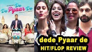 Dede Pyaar De movie Hit/Flop Genuine Review By Public - Ajay Devgn,Tabu,Rakul Preet