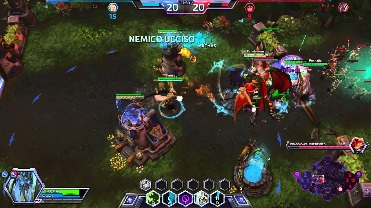 Hero slots heroes of the storm