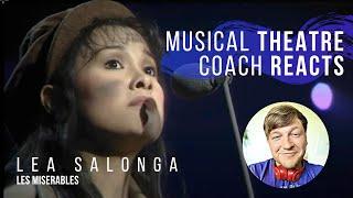 "Musical Theatre Coach Reacts (LEA SALONGA ""On My Own"" - Les Misérables)"