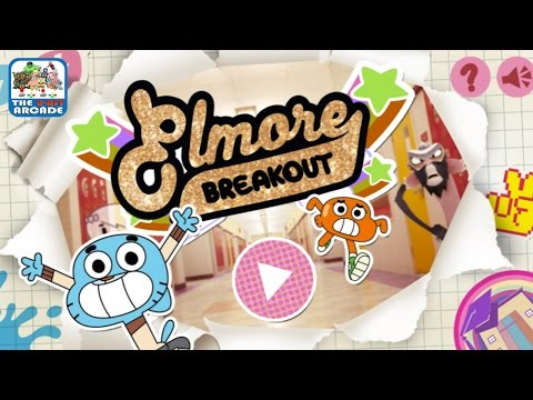 The Amazing World of Gumball: Elmore Breakout - Escape If You Can (Cartoon Network Games)