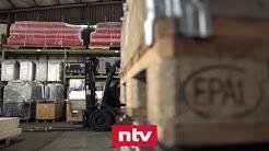 Deutsche Wirtschaft bricht in Corona-Krise stark ein | ntv