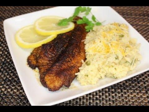 Blackened Catfish (Saturday Meal) (Legacy)💋
