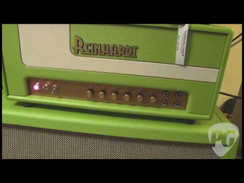 NY Amp Show '10 - Reinhardt Amplification SHG 33 Demo, Vintage 100, Sonoma & More