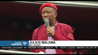 EFF will free the country from corruption: Malema