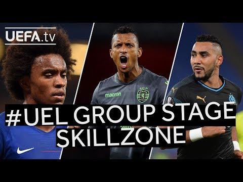 WILLIAN, NANI, PAYET: #UEL Group Stage SKILLZONE!!
